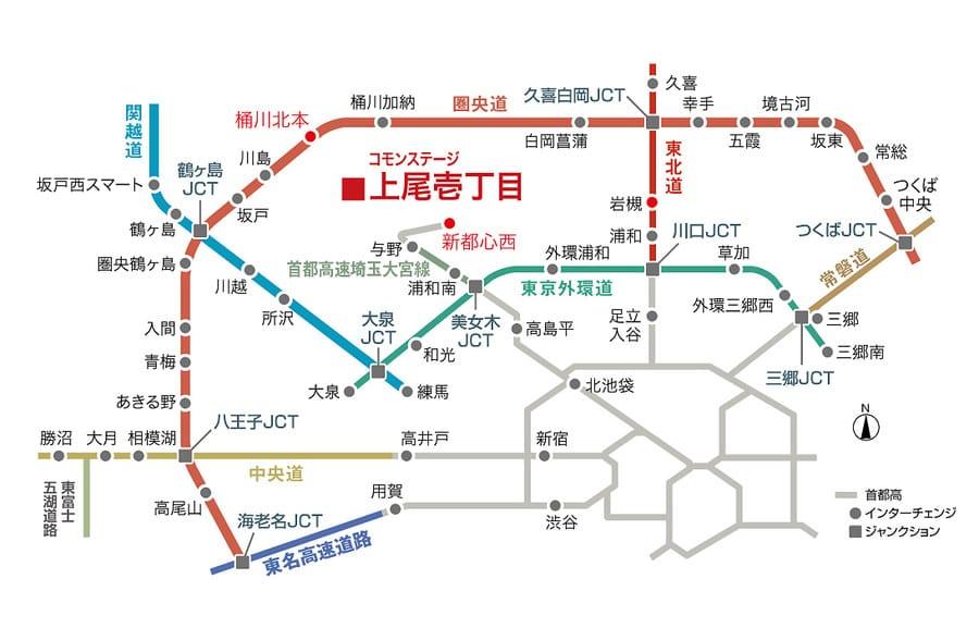 コモンステージ上尾壱丁目建売