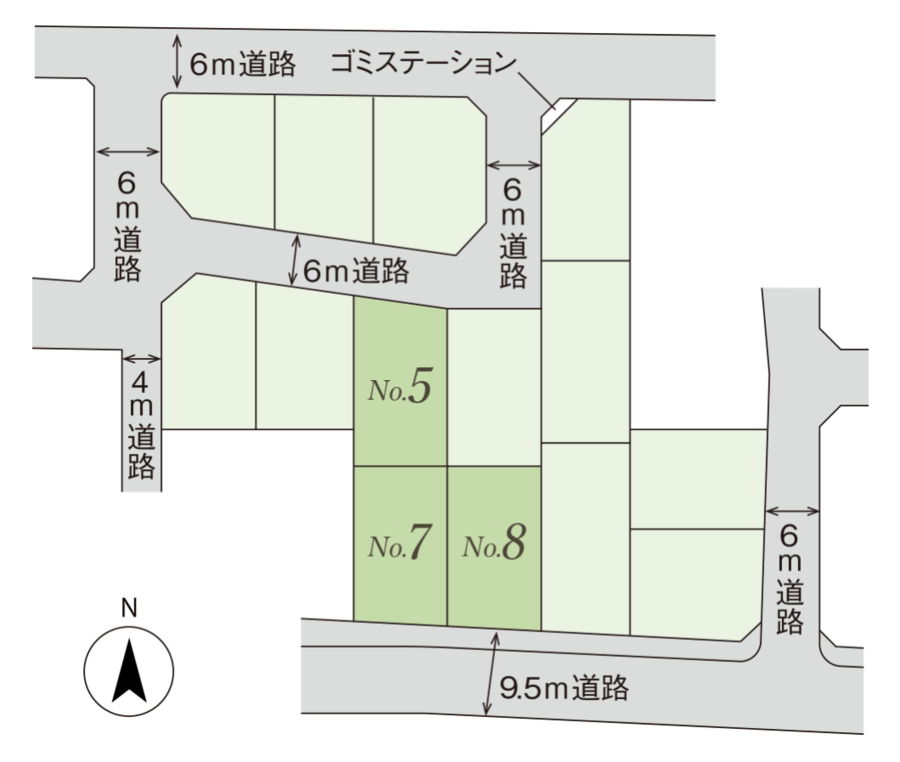 コモンステージ熊谷上之Ⅱ-分譲住宅