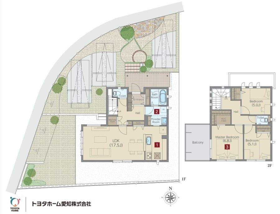 【トヨタホーム愛知】MIYOSHI MIRAITO 建売分譲