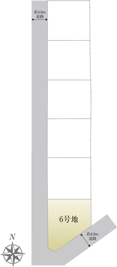 セキュレア調布国領IV (建築条件付宅地分譲)