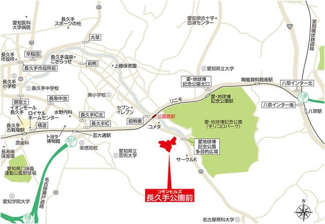 L location map