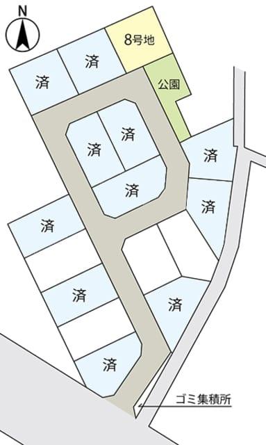 セキュレア阿見本郷 (建築条件付宅地分譲)