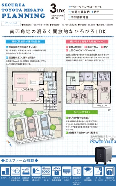 セキュレア豊田美里 (分譲住宅)