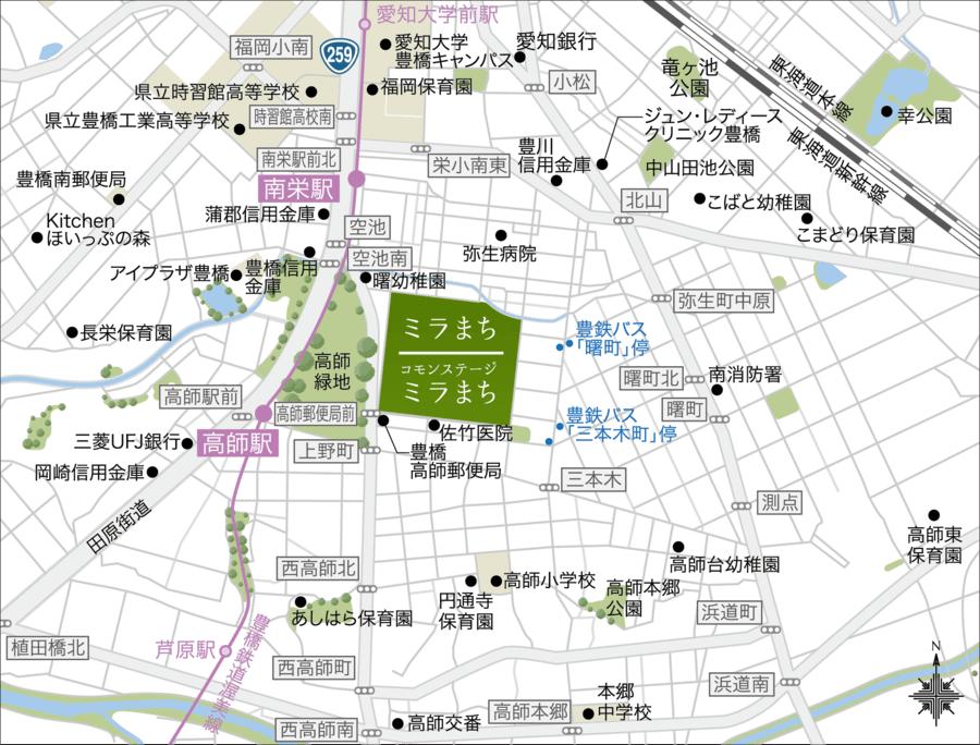 コモンステージ ミラまち【フロントステージ】