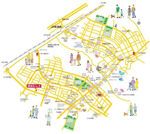 コモンガーデン蔵波台 <No.8>