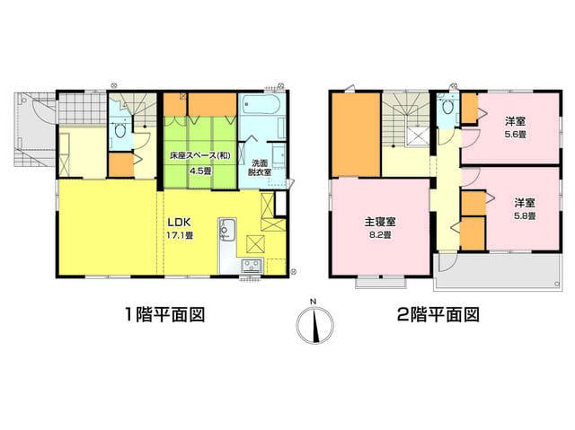 富士市「森島II」建売分譲住宅