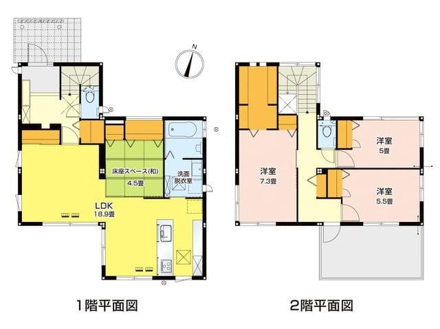 富士市「森島」建売分譲住宅