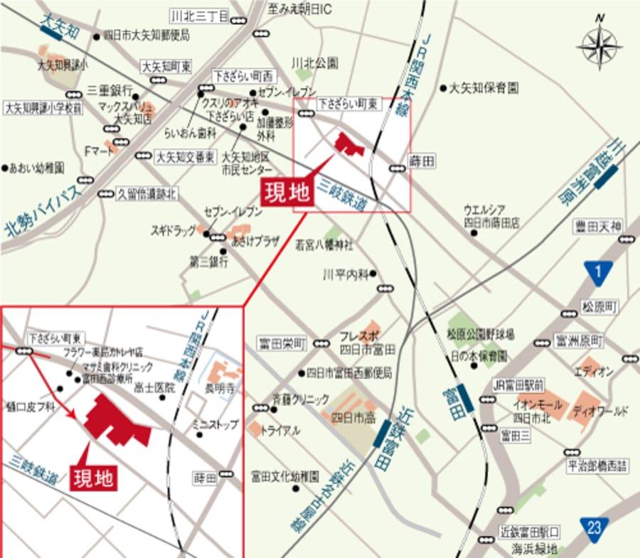 デュオガーデン四日市蒔田