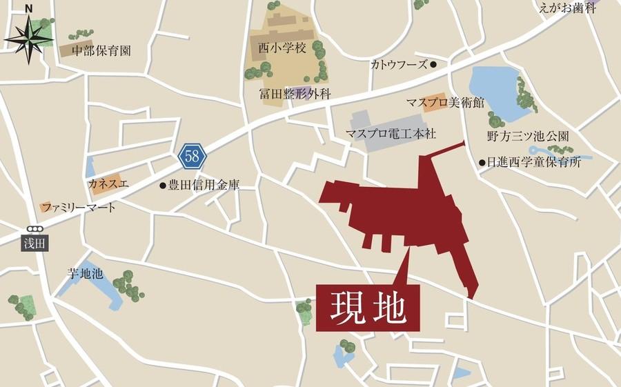 T-famile 日進浅田(分譲土地)
