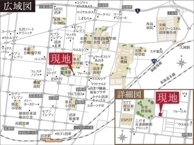セキュレア沼津泉町 (建築条件付宅地分譲)