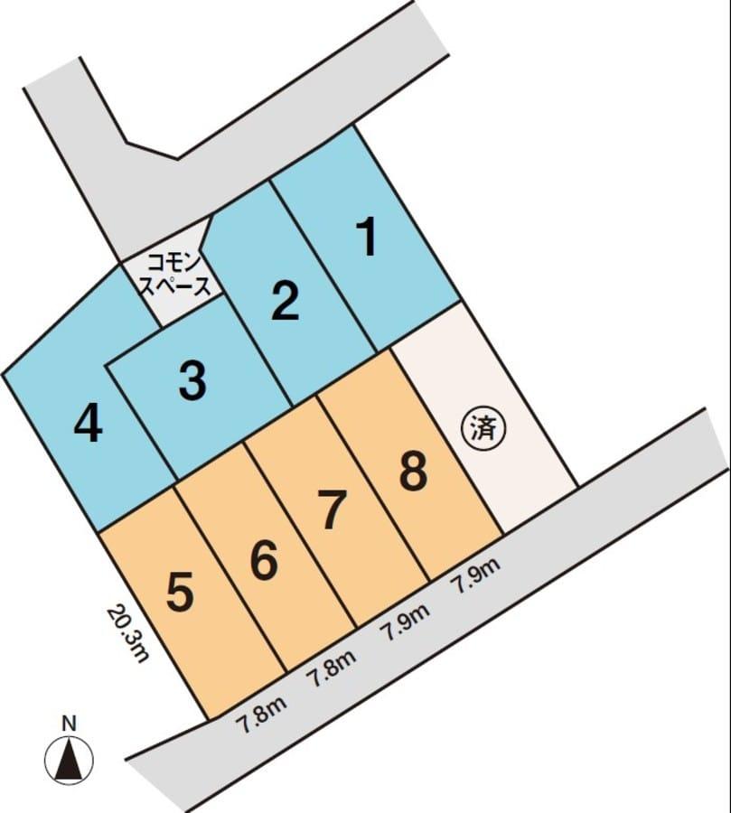 赤池箕ノ手17-1街区(分譲宅地)