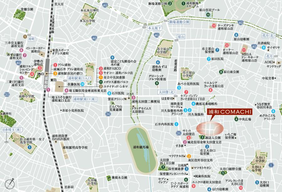 浦和COMACHI 空COMACHI街区Ⅲ