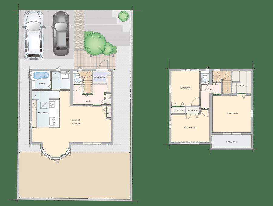 浜松市浜北区「ブライトヒルズ浜北中瀬」建売分譲住宅